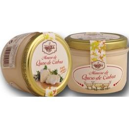 Mousse de queso de cabra