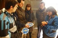 Los alumnos de la Escuela Agraria de Derio visitan nuestras instalaciones